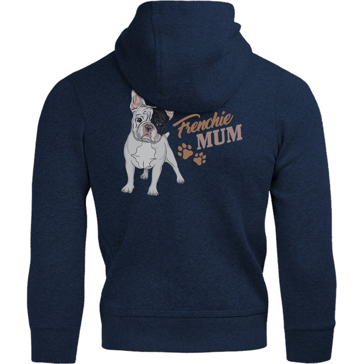 Frenchie Mum - Adult & Youth Hoodie - Graphic Tees Australia