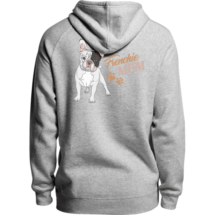 Frenchie Mum - Unisex Hoodie - Plus Size - Graphic Tees Australia
