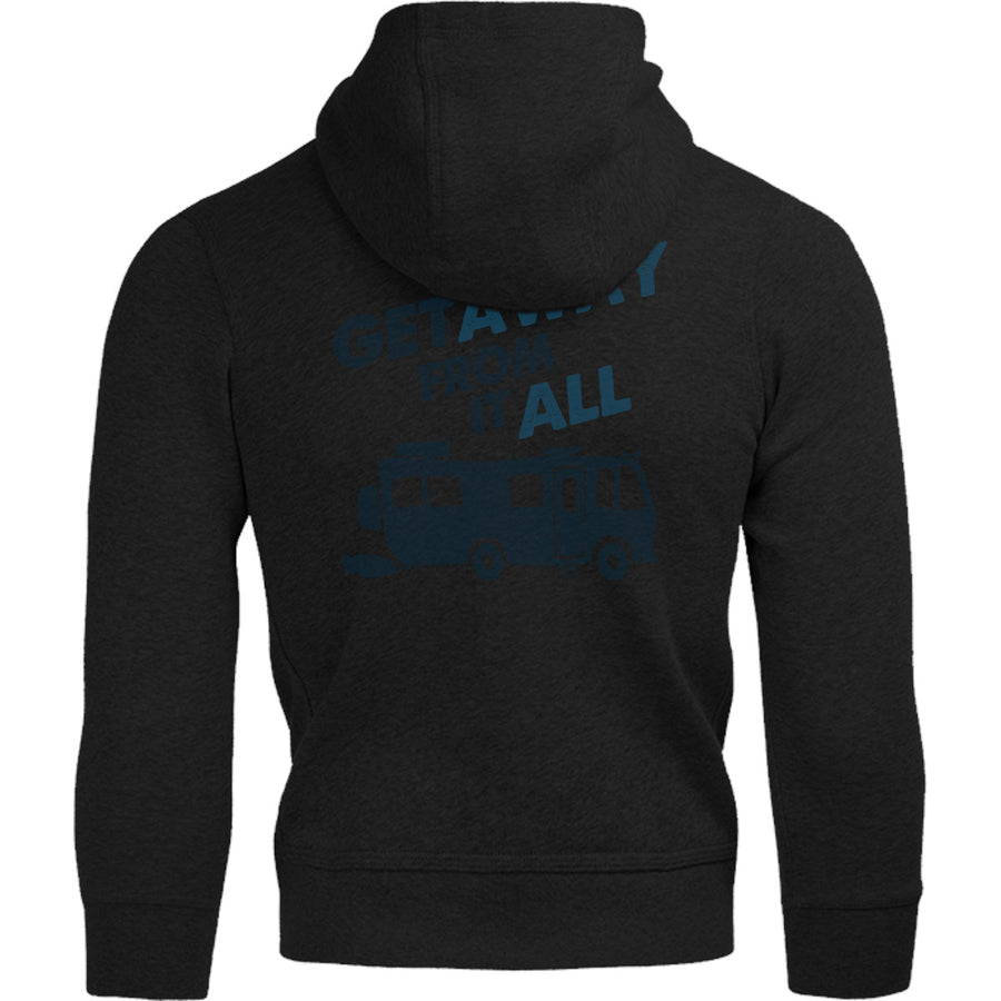 Get Away From It All - Adult & Youth Hoodie - Graphic Tees Australia