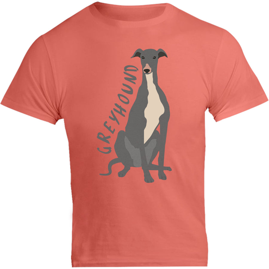Greyhound Cartoon - Unisex Tee - Graphic Tees Australia