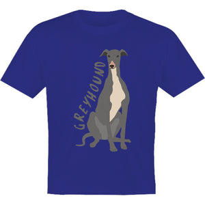 Greyhound Cartoon - Youth & Infant Tee - Graphic Tees Australia