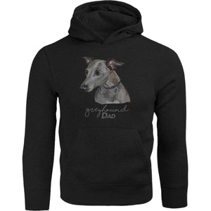 Greyhound Dad - Adult & Youth Hoodie - Graphic Tees Australia