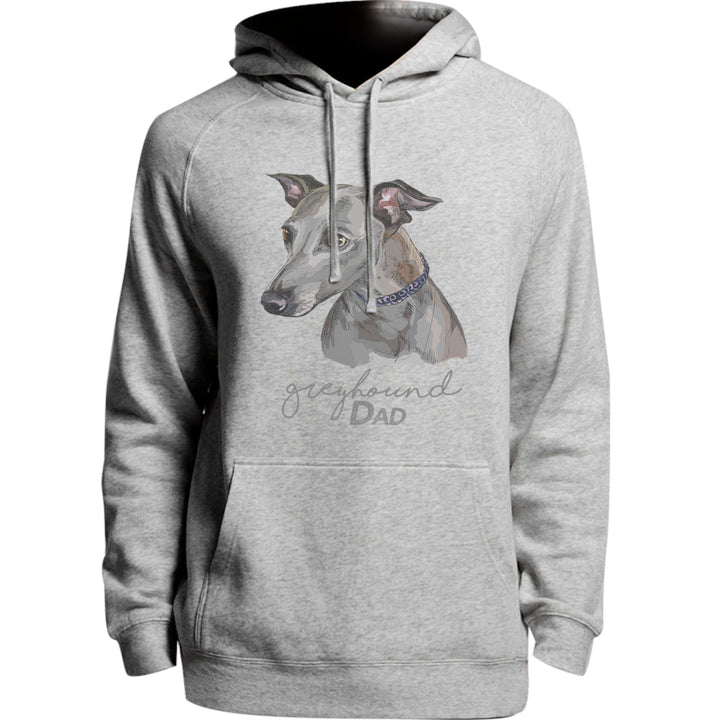 Greyhound Dad - Unisex Hoodie - Plus Size - Graphic Tees Australia
