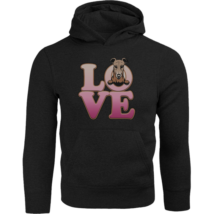 Greyhound Love - Adult & Youth Hoodie - Graphic Tees Australia