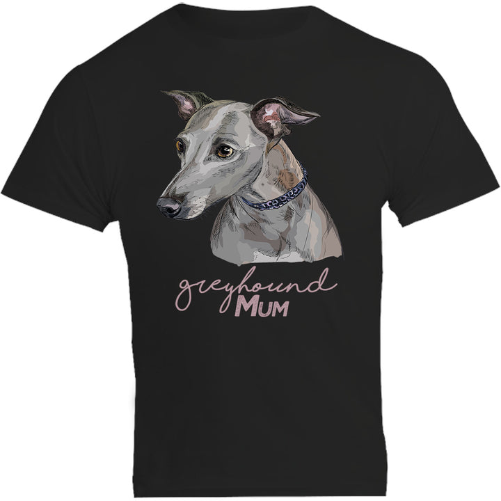Greyhound Mum - Unisex Tee - Plus Size - Graphic Tees Australia