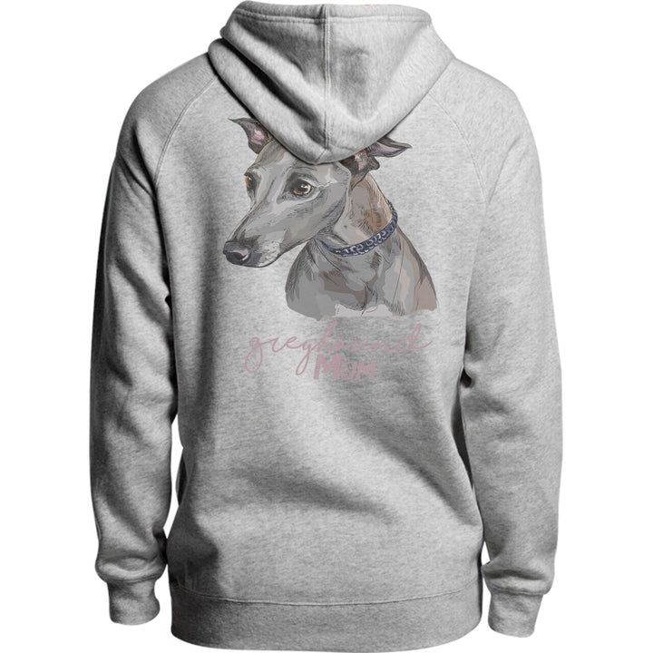 Greyhound Mum - Unisex Hoodie - Plus Size - Graphic Tees Australia