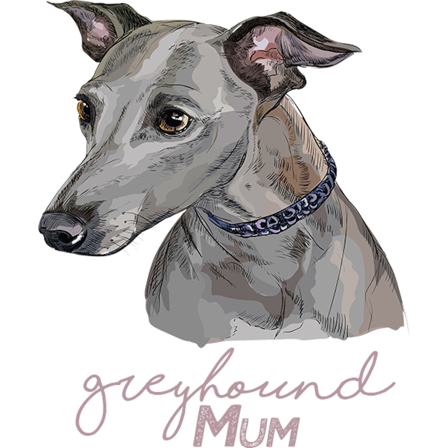 Greyhound Mum - Adult & Youth Hoodie - Graphic Tees Australia