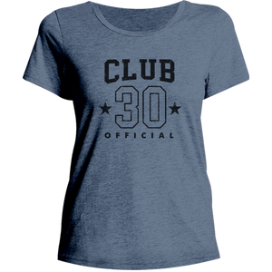 Club 30 - Ladies Relaxed Fit Tee