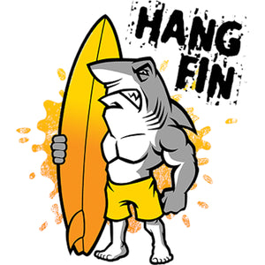 Hang Fin - Youth & Infant Tee - Graphic Tees Australia