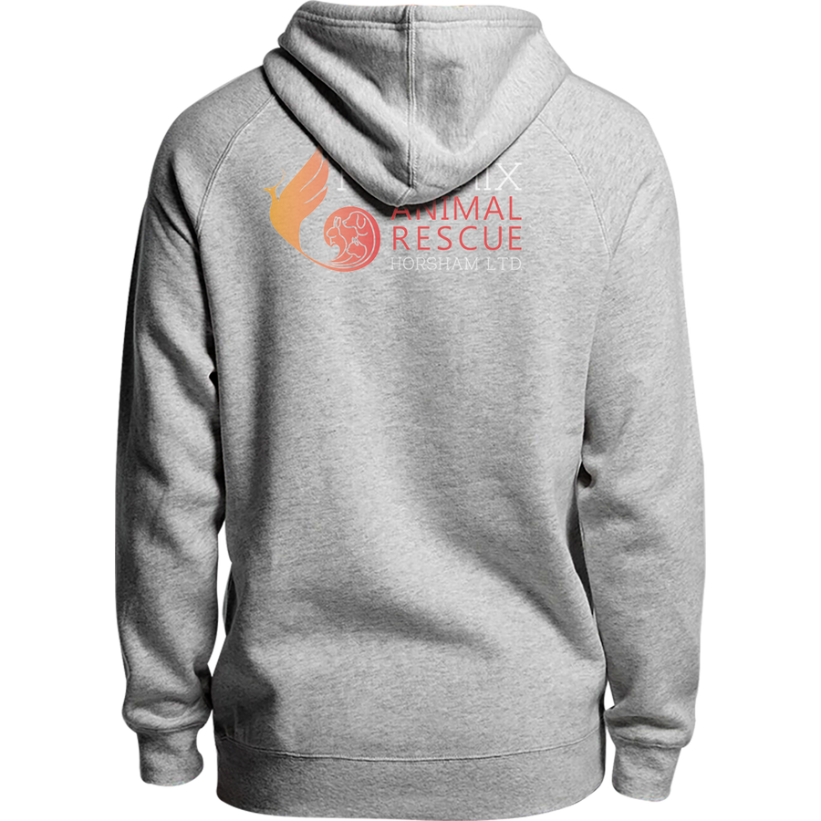 Life Is Better With A Rescue Phoenix Animal Rescue Horsham front & back - Unisex Hoodie - Plus Size