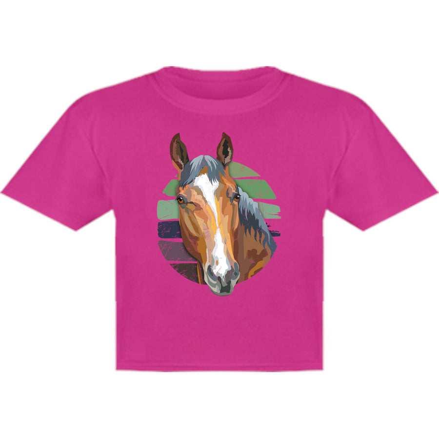 Horse Retro Style - Youth & Infant Tee - Graphic Tees Australia
