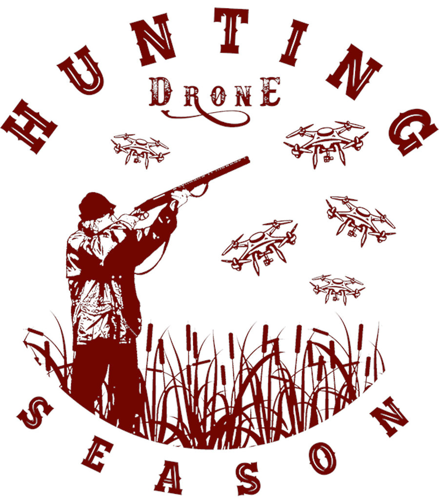 Hunting Drone Season - Adult & Youth Hoodie - Graphic Tees Australia