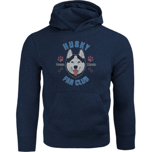 Husky Fan Club - Adult & Youth Hoodie - Graphic Tees Australia