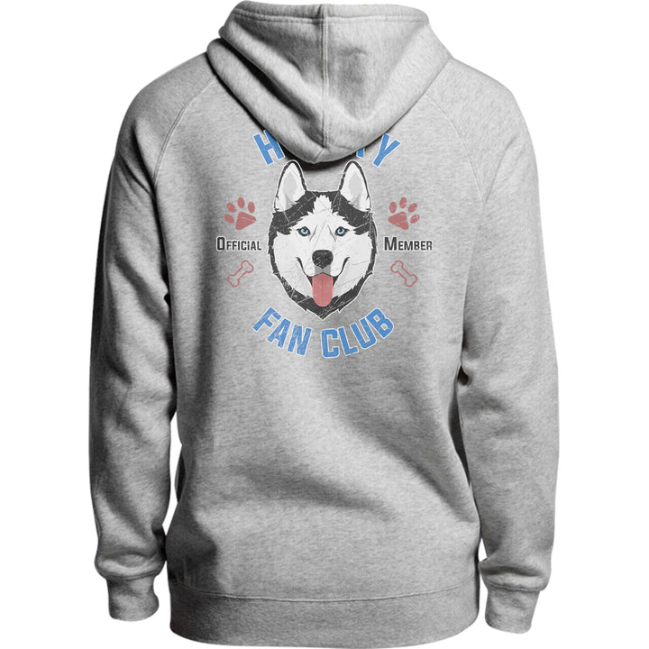 Husky Fan Club - Unisex Hoodie - Plus Size - Graphic Tees Australia