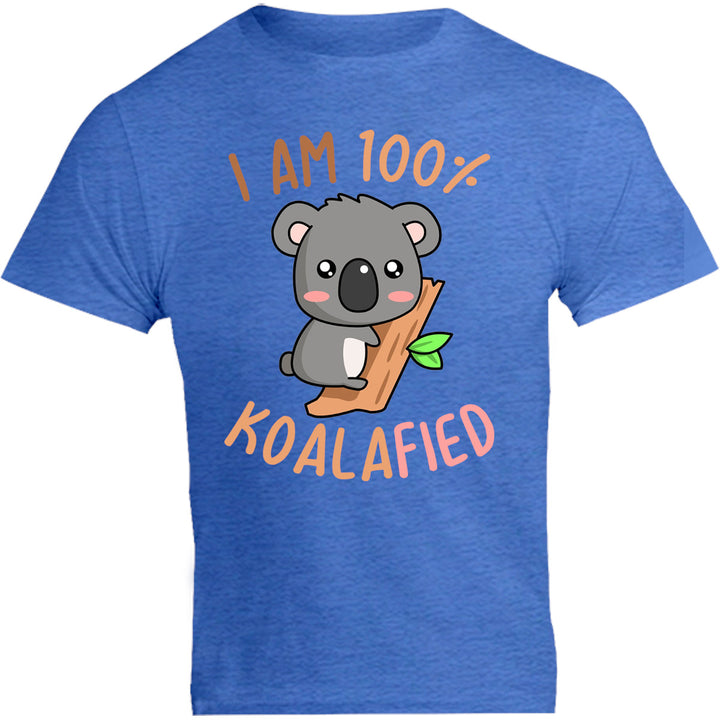 I Am 100% Koalafied - Unisex Tee - Graphic Tees Australia