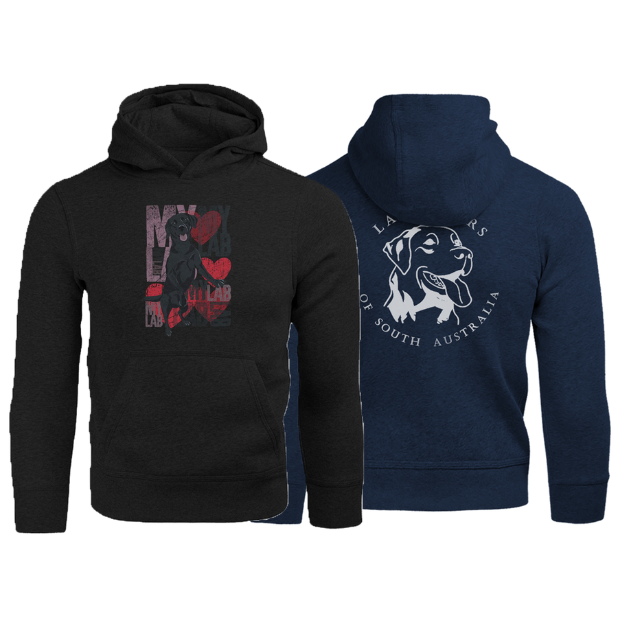 I Love My Lab Labradors of South Australia - Adult & Youth Hoodie