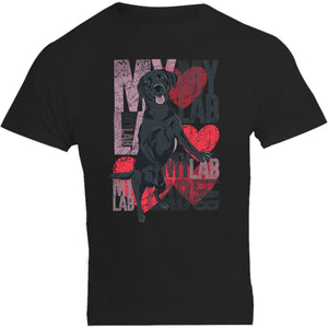 I Love My Lab Labradors of South Australia - Unisex Tee - Plus Size