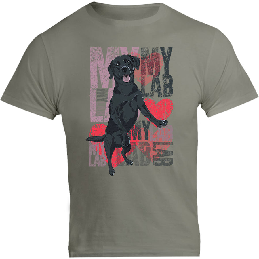 I Love My Lab - Unisex Tee - Graphic Tees Australia
