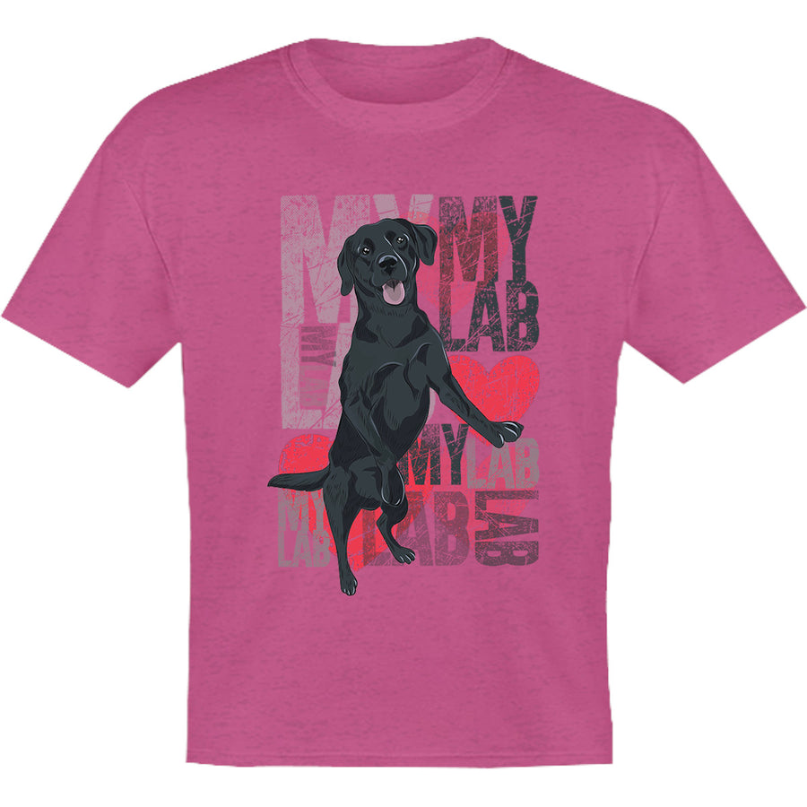 I Love My Lab - Youth & Infant Tee - Graphic Tees Australia