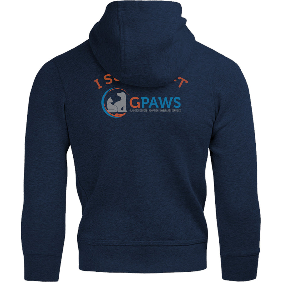 Weekends Coffee Dogs GPAWS front & back - Adult & Youth Hoodie