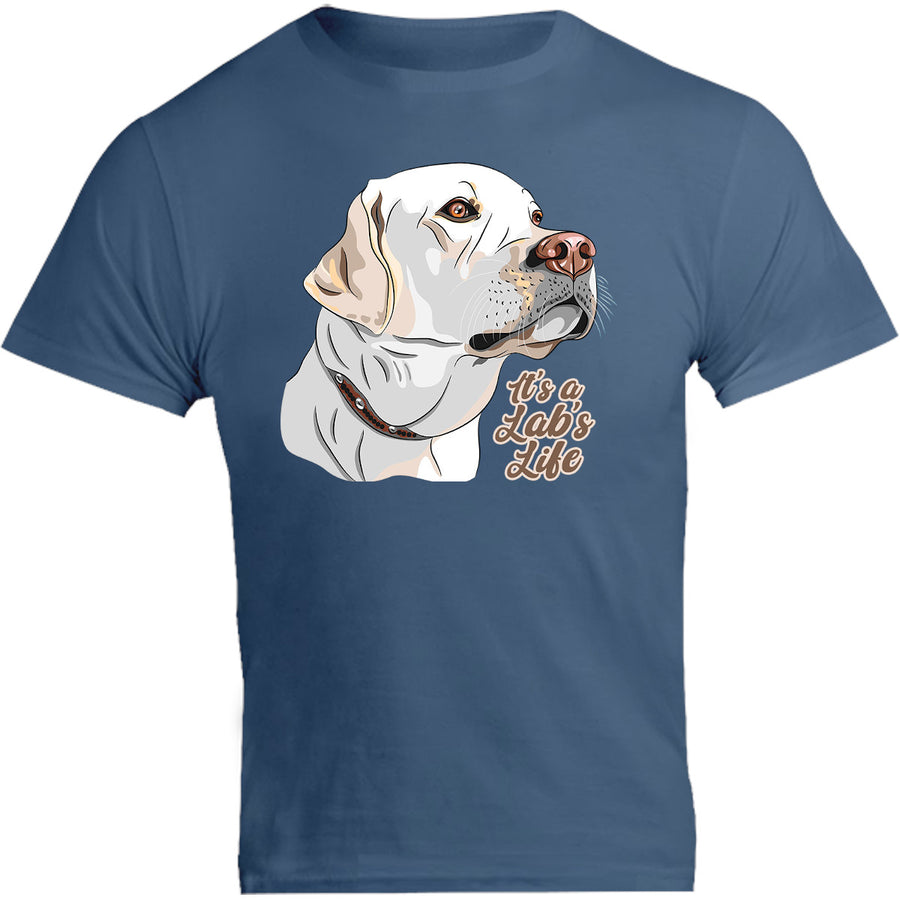 It's A Lab's Life - Unisex Tee - Graphic Tees Australia