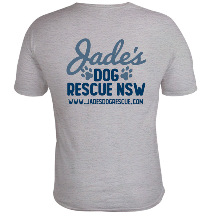 Jade's Dog Rescue front & back - Unisex Tee - Graphic Tees Australia
