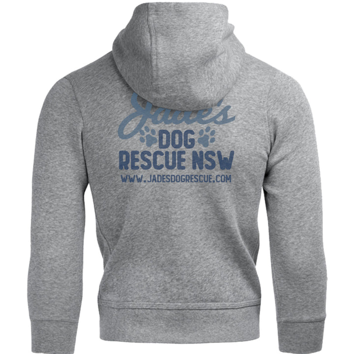Jade's Dog Rescue front & back - Unisex Hoodie - Graphic Tees Australia