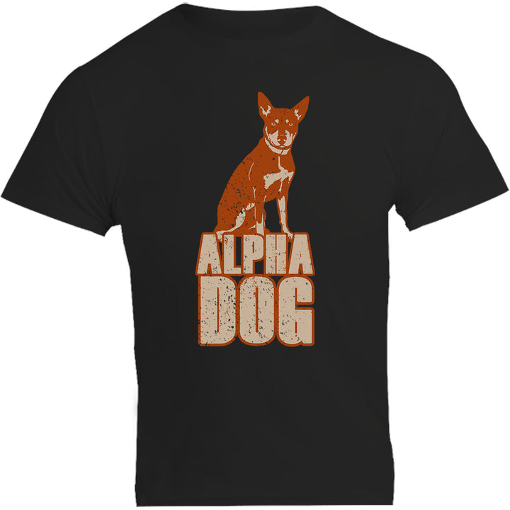Kelpie Alpha Dog - Unisex Tee - Plus Size - Graphic Tees Australia