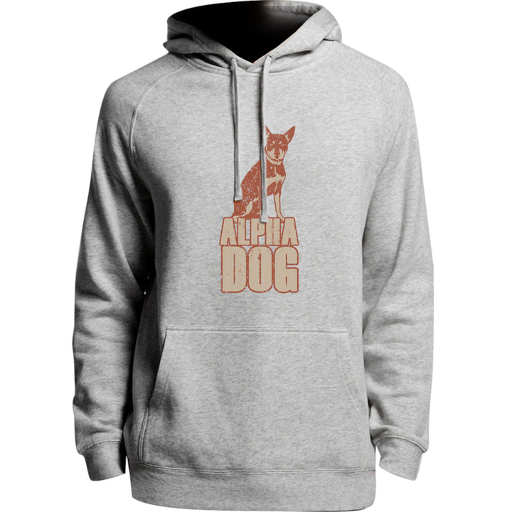 Kelpie Alpha Dog - Unisex Hoodie - Plus Size - Graphic Tees Australia