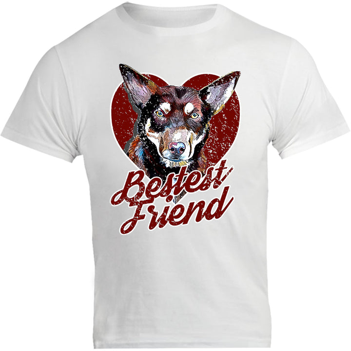 Kelpie Bestest Friend - Unisex Tee - Graphic Tees Australia