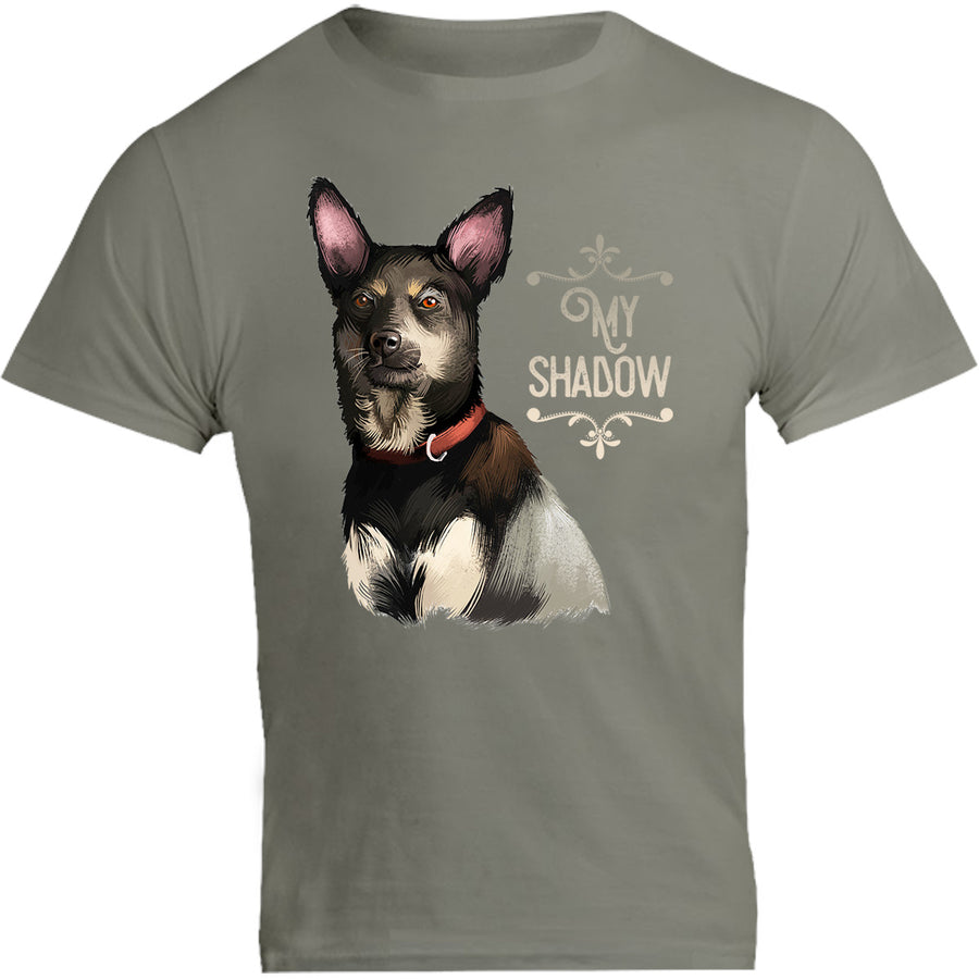 Kelpie My Shadow - Unisex Tee - Graphic Tees Australia