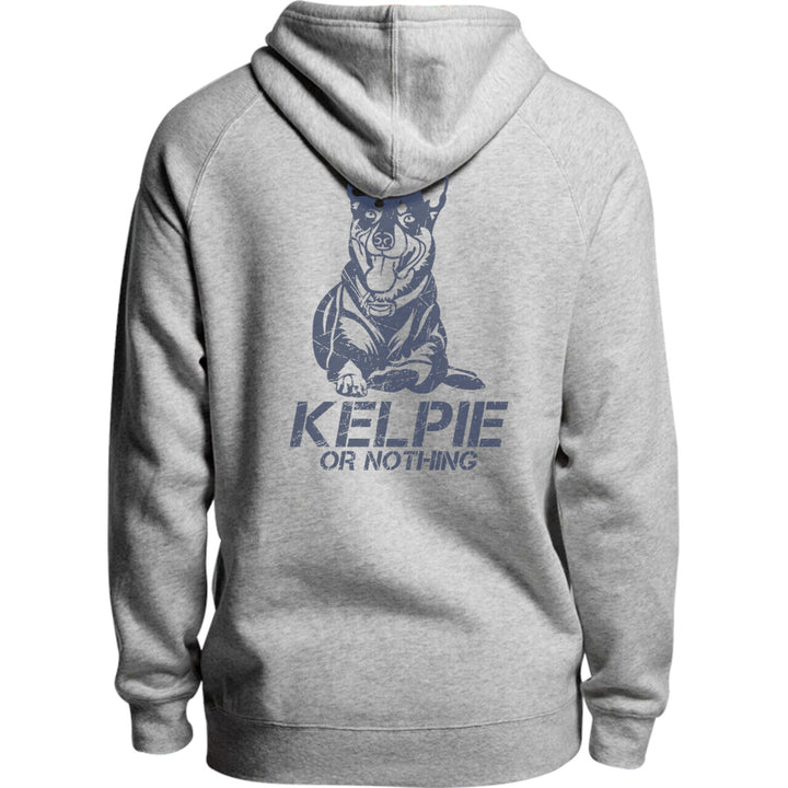 Kelpie Or Nothing - Unisex Hoodie - Plus Size - Graphic Tees Australia