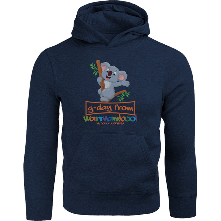 Koala G'day From Warrnambool - Adult & Youth Hoodie - Graphic Tees Australia