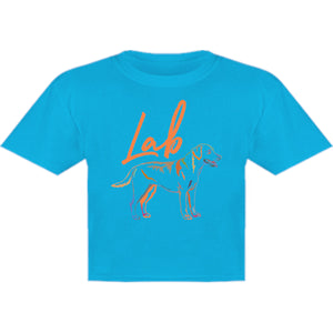 Lab Colourful - Youth & Infant Tee - Graphic Tees Australia