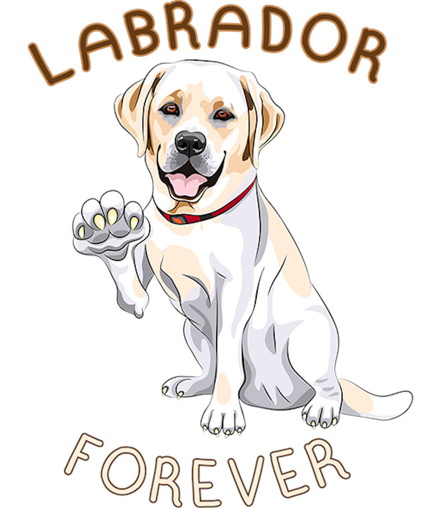 Labrador Forever - Ladies Relaxed Fit Tee - Graphic Tees Australia