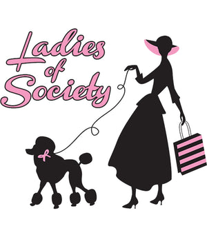 Ladies Of Society - Ladies Relaxed Fit Tee - Graphic Tees Australia