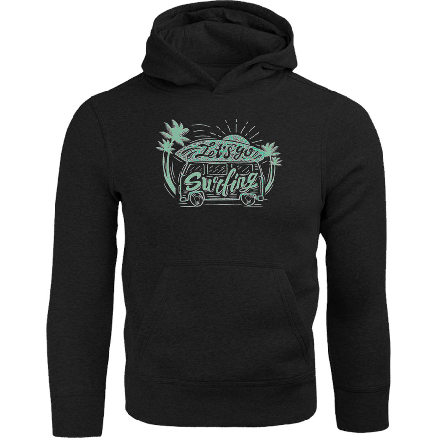 Let's Go Surfing - Adult & Youth Hoodie - Graphic Tees Australia