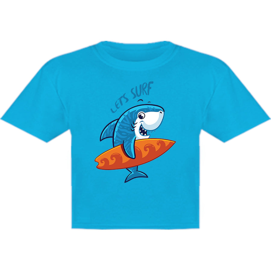 Lets Surf - Youth & Infant Tee - Graphic Tees Australia