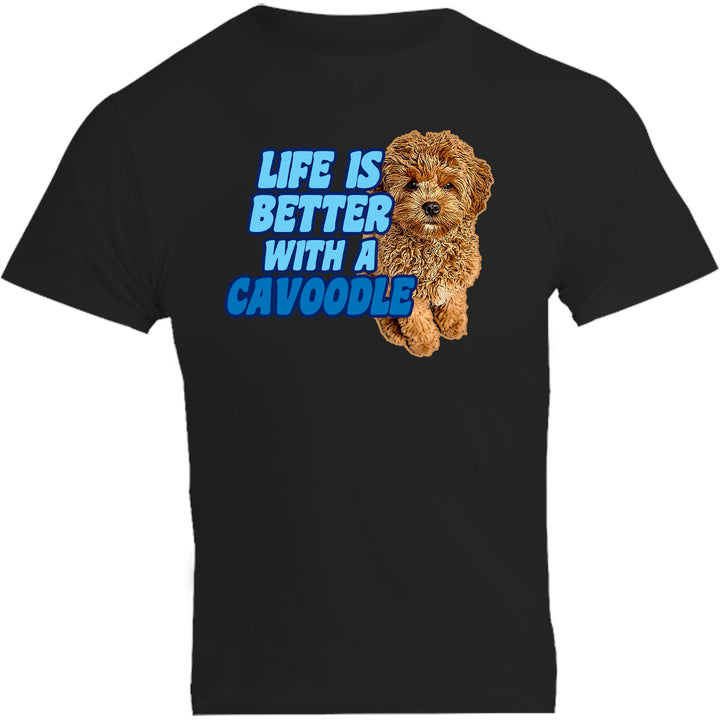 Life Is Better With A Cavoodle - Unisex Tee - Plus Size - Graphic Tees Australia