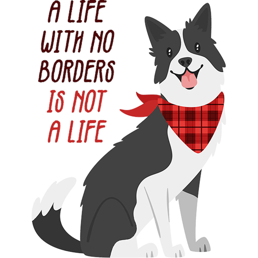 Life With No Borders - Adult & Youth Hoodie - Graphic Tees Australia