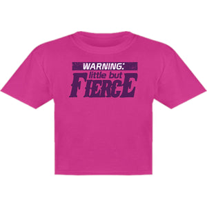 Little But Fierce - Youth & Infant Tee - Graphic Tees Australia