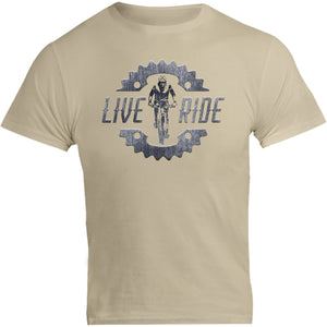 Live Ride - Unisex Tee - Graphic Tees Australia