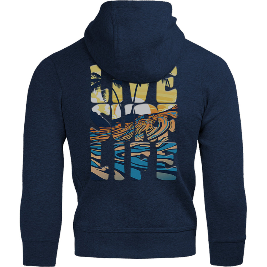 Live Surf Life - Adult & Youth Hoodie - Graphic Tees Australia