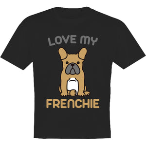 Love My Frenchie - Youth & Infant Tee - Graphic Tees Australia