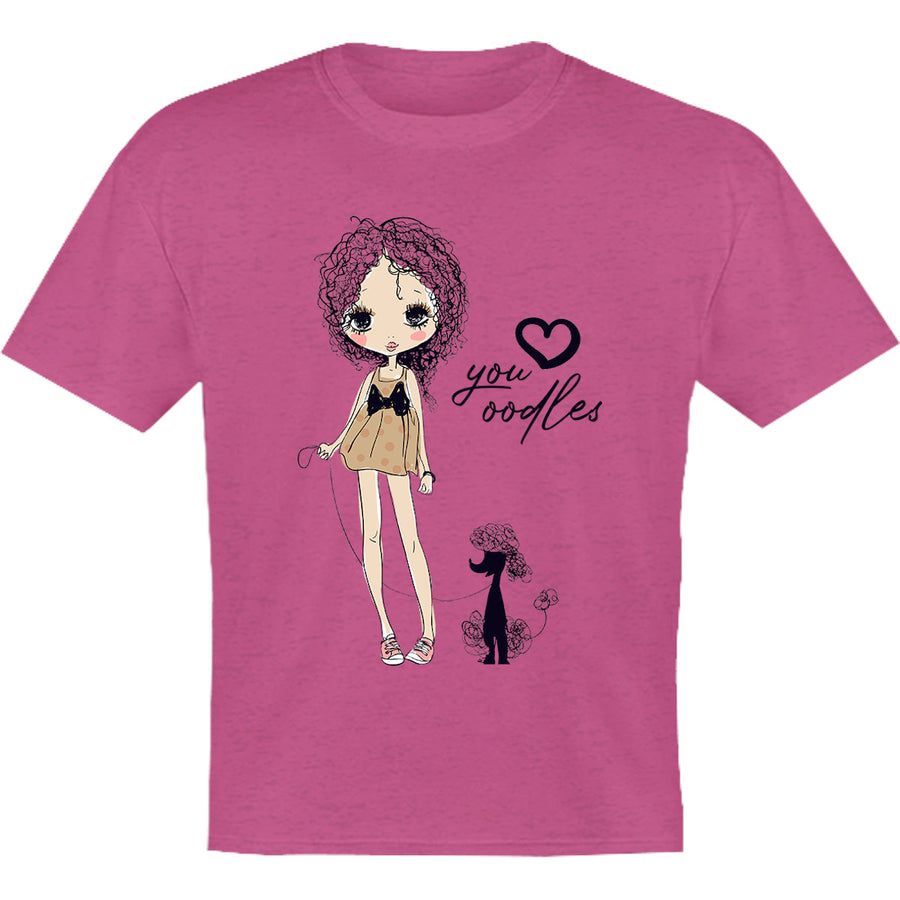 Love You Oodles - Youth & Infant Tee - Graphic Tees Australia