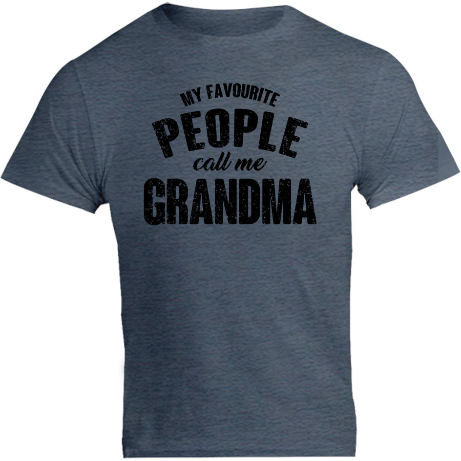 My Favourite People Call Me Grandma - Unisex Tee - Graphic Tees Australia