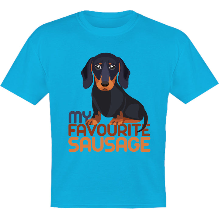 My Favourite Sausage - Youth & Infant Tee - Graphic Tees Australia