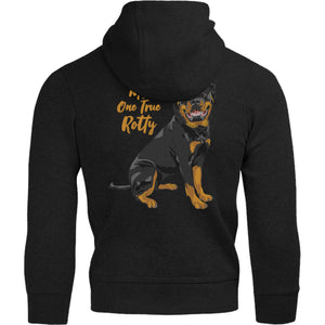 My One True Rotty - Adult & Youth Hoodie - Graphic Tees Australia