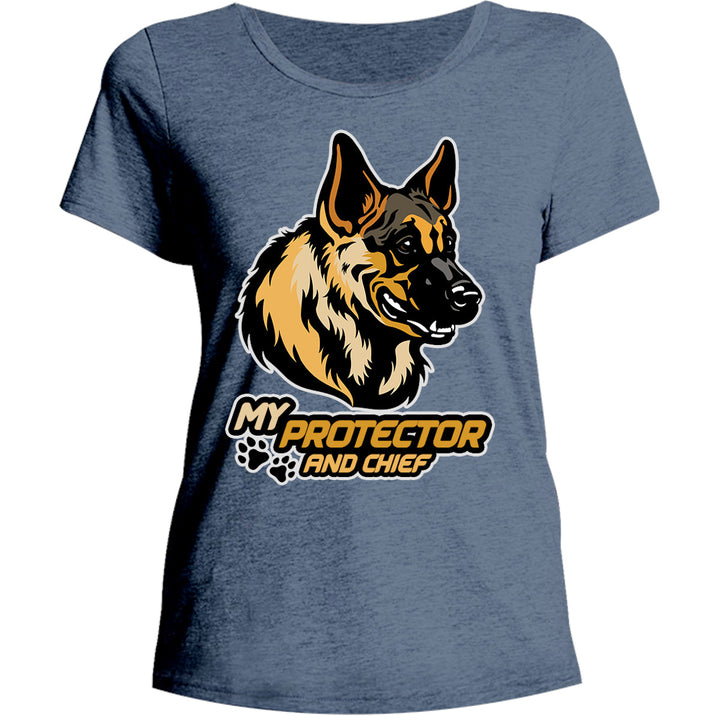 My Protector And Chief - Ladies Relaxed Fit Tee - Graphic Tees Australia