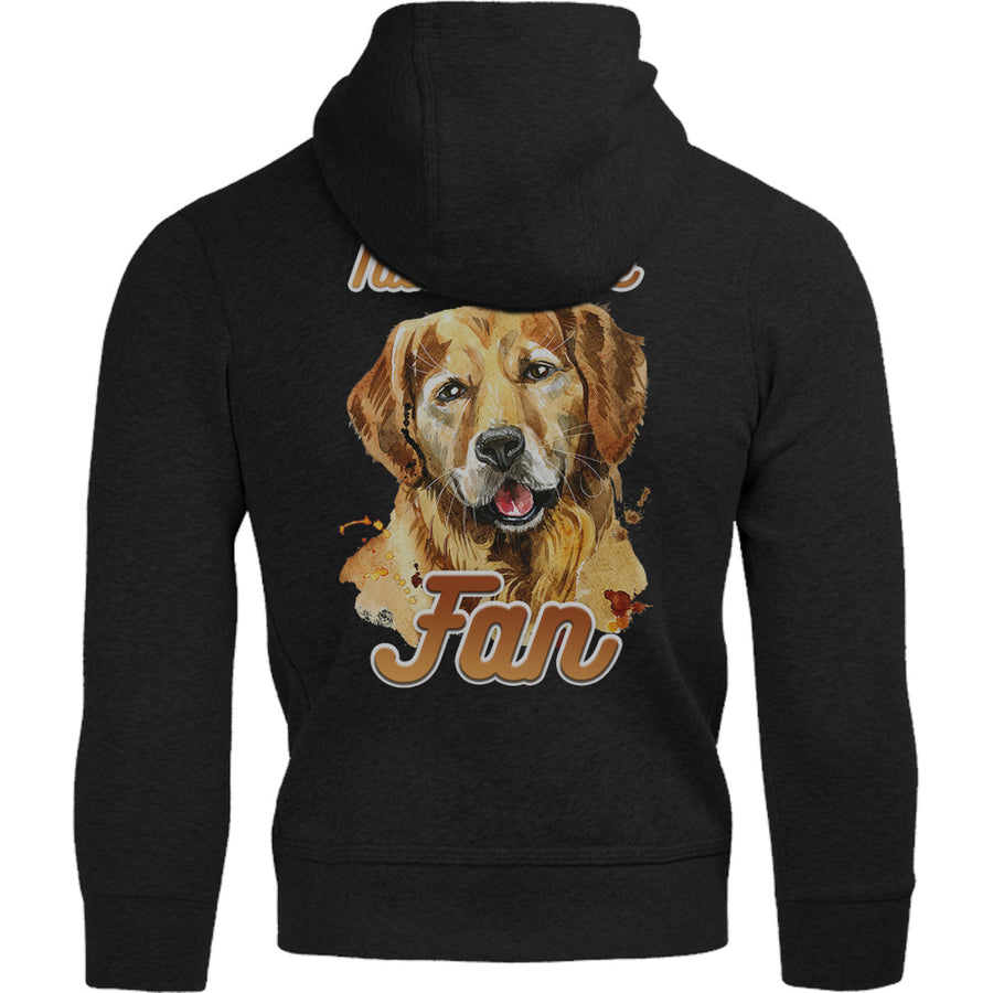 Number One Fan Golden Retriever - Adult & Youth Hoodie - Graphic Tees Australia